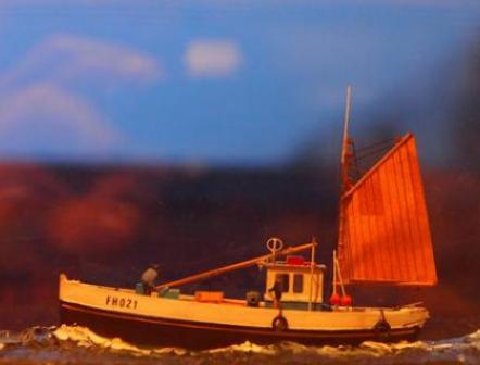 Cornish Lugger model