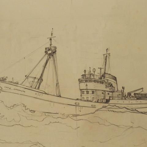 Cape Otranto Built 1962 and Scrapped 1979
