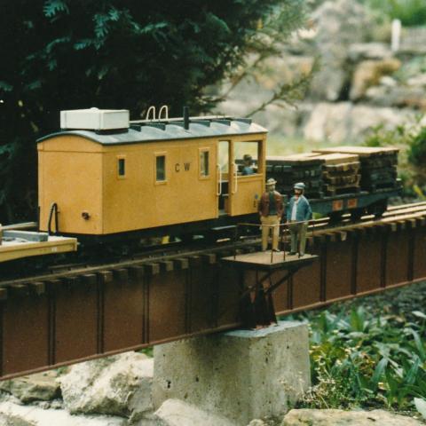 Somerset garden Railway, Cale Western