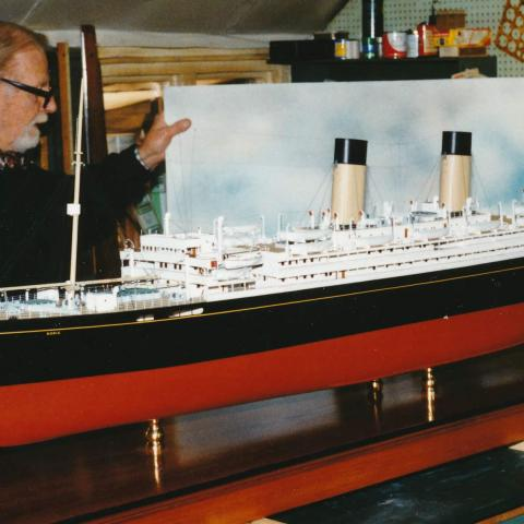 RMS Doric, White Star Line , Formigny, Scrapped, Newport