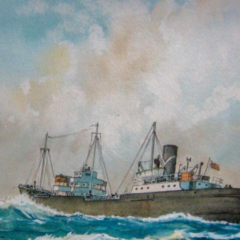 M.V. Pembroke, cargo ship, Adshead, Eade,