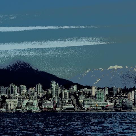 Sea Bus, North Vancouver,boats,