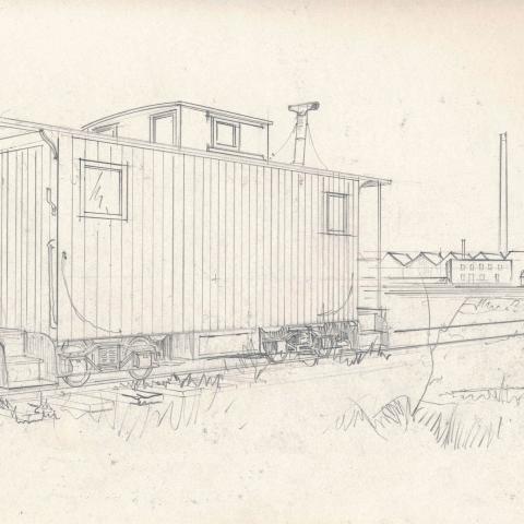 Caboose sketch