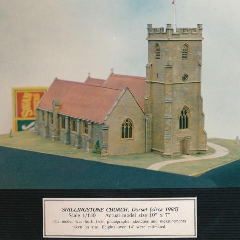 Shillingstone Church, Dorset circa 1985