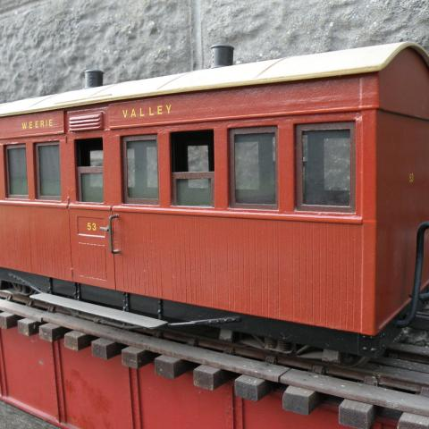 Garden Railway. Passenger Carriage.